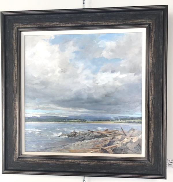 Clouds Over the Sea BY Deborah Tilby
